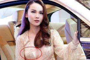 Yến Trang phủ nhận bị 'lộ hàng' vì mặc quá hở tại Elle Show