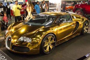 10 nhân vật nổi tiếng sở hữu siêu xe Bugatti Veyron