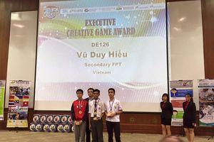 Học sinh Việt Nam đoạt giải Thiết kế game sáng tạo nhất