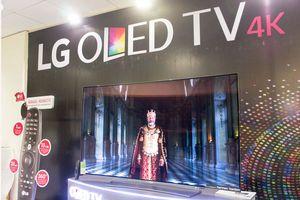 LG chính thức ra mắt siêu phẩm TV OLED 4K tại Việt Nam