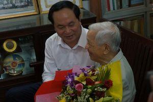 Chủ tịch nước Trần Đại Quang thăm gia đình có công với cách mạng tại Đà Nẵng
