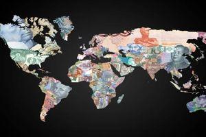 Bản đồ tiền tệ: giá trị tiền Việt thấp thứ 2 thế giới