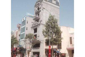 Phường Quang Trung 'làm ngơ' trước công trình 'khủng' xây dựng sai phép?