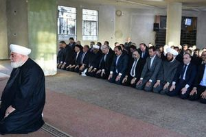 Tổng thống Syria Assad tái xuất dịp lễ