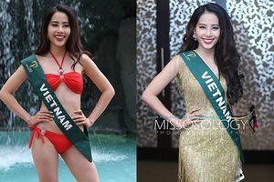 Nam Em khoe vóc dáng săn chắc với bikini tại Miss Earth