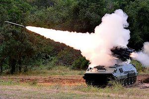Cận cảnh pháo phản lực 122mm do Thái Lan chế tạo