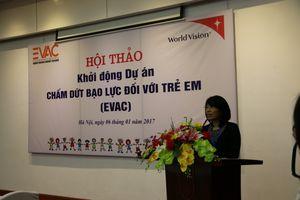 Khởi động dự án chấm dứt bạo lực đối với trẻ em