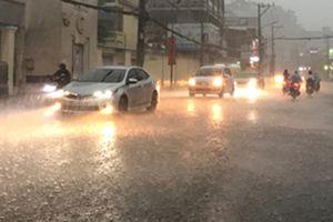 Sài Gòn tiếp tục có mưa trái mùa trên diện rộng