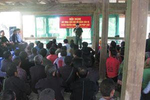 Dẹp nạn buôn bán phụ nữ, trẻ em ở Hà Giang
