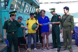 Đồn BP Sầm Sơn củng cố thế trận biên phòng toàn dân
