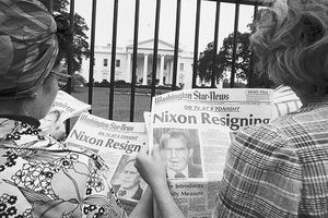 Ảnh hiếm vụ bê bối Watergate khiến Tổng thống Nixon từ chức