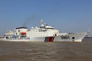 Trung Quốc điều 'siêu tàu' tới tuần tra biển Đông