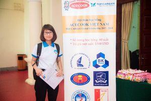 Học bổng Acecook Việt Nam 2017 đồng hành cùng sinh viên vượt khó