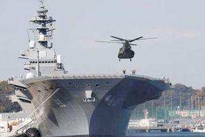 Mỹ và Nhật Bản tập trận ở biển Đông