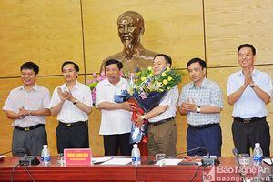 Bí thư Thị ủy Thái Hòa được bổ nhiệm Giám đốc Trung tâm xúc tiến và hỗ trợ đầu tư Nghệ An