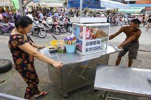 Khu chợ bán hàng rong hợp pháp đầu tiên ở Sài Gòn