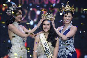Thí sinh không được yêu thích đăng quang Miss Grand Thái Lan