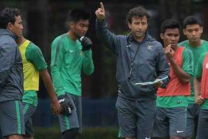 HLV Indonesia đặt mục tiêu phải thắng U-22 Việt Nam