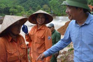 Ngược lũ cùng Bí thư Tỉnh ủy Quảng Ninh
