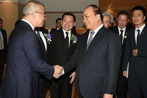 Thủ tướng tham dự diễn đàn, đối thoại với các DN lớn Thái Lan-Việt Nam