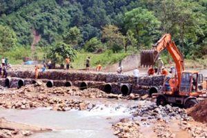 Vụ cầu Cổ Ngựa bị lũ phá: Quảng Ninh - Bắc Giang đã 'thông mạch'