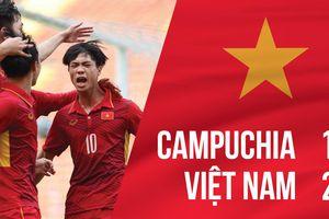 9 đấu 11, Việt Nam thắng nghẹt thở Campuchia