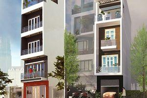 10 thiết kế nhà phố 5 tầng ấn tượng đáng học tập