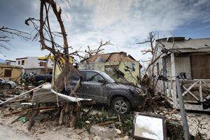 Cận cảnh 'dấu chân' kinh hoàng của bão 'quái vật' Irma