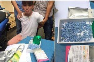 Giấu ma túy trong đồ lót vẫn không qua mặt được công an