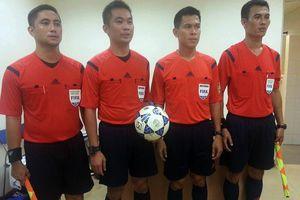 Bộ tứ trọng tài Thái Lan điều khiển trận tuyển Việt Nam vs Campuchia