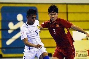 ĐT futsal VN thua sốc Malaysia 1-5 ở bán kết Đông Nam Á