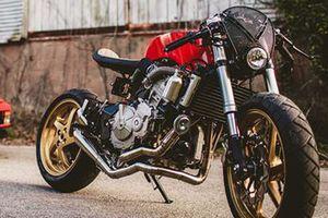 Môtô Honda CB600F phong cách Ferrari siêu ấn tượng
