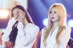 T-ara bật khóc trong đêm nhạc dưới mưa ở TP.HCM