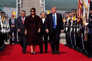 Hàn Quốc trải thảm đỏ đón Tổng thống Mỹ Donald Trump
