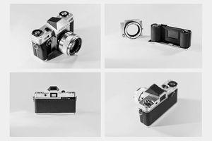 Reflex - máy ảnh chụp film đầu tiên có thiết kế mới sau 25 năm