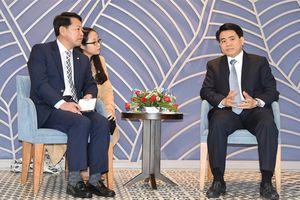Chủ tịch Nguyễn Đức Chung tiếp Phó Thị trưởng TP Changwon (Hàn Quốc)
