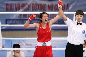 Boxing nữ Việt Nam 'tái xuất' đầy ấn tượng