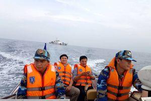 Bộ Tư lệnh Vùng Cảnh sát biển 2 sẽ bảo vệ tuyến cáp quang biển quốc tế của VNPT