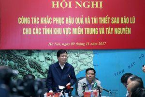 Phó Thủ tướng yêu cầu hỗ trợ toàn diện cho người dân vùng bão lũ
