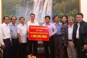 Thành phố Hồ Chí Minh hỗ trợ Thừa Thiên-Huế 1 tỉ đồng khắc phục mưa lũ