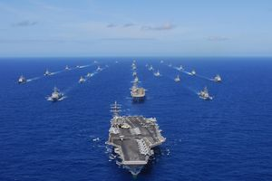 Bất ngờ: 7 tàu sân bay Mỹ đồng loạt 'xuất kích' ra khơi