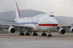 Hàn Quốc gắn quốc kỳ Việt Nam trên chuyến bay APEC
