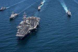 Sự kiện ít thấy: 3 tàu sân bay Mỹ phối hợp tập trận trên Thái Bình Dương