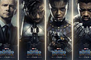 Trái ngược với Thor, 'Black Panther' tung ra loạt poster u tối hơn nhiều.