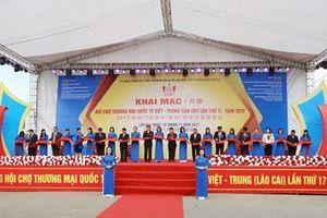 Khai mạc Hội chợ Thương mại quốc tế Việt Trung với quy mô 800 gian hàng