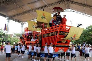 Hội An tiếp nhận mô hình Châu Ấn thuyền do Nhật Bản trao tặng