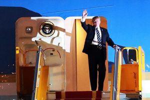 Tổng thống Mỹ Donald Trump đến Hà Nội, bắt đầu thăm cấp Nhà nước Việt Nam
