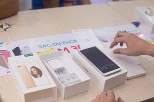 Oppo F5 mở bán với 30.000 đơn hàng đặt mua
