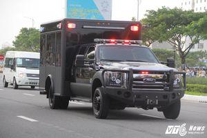 Chiếc xe trông rất bình thường nhưng cực kỳ quan trọng trong đoàn hộ tống Tổng thống Mỹ