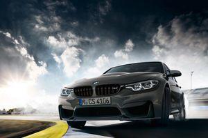 Xe thể thao hiệu suất cao BMW M3 CS sản xuất giới hạn 1.200 chiếc